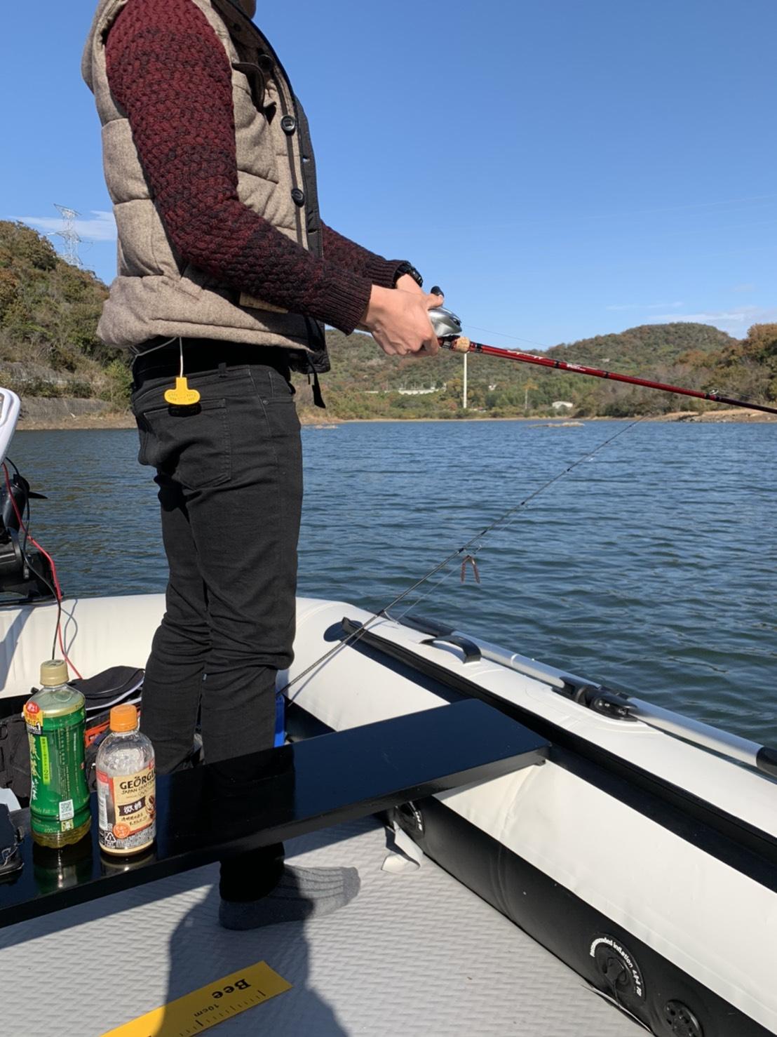 釣りに行きました♪